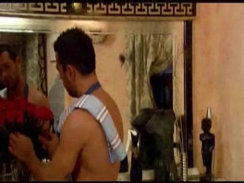 ガタイの良いハンサム洋人さんの3Pセックス♪ シコシコ ゲイ無修正動画画像 110連発 91