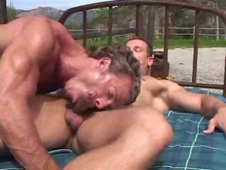 デカさmax!驚きの巨漢とガチオトコ達のセックス! 念願の完全無修正 ゲイアダルトビデオ画像 43連発 32