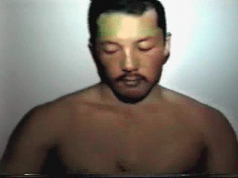 コワモテ風中年男がオナニーを公開!! 念願の完全無修正 ゲイ無料エロ画像 102連発 58