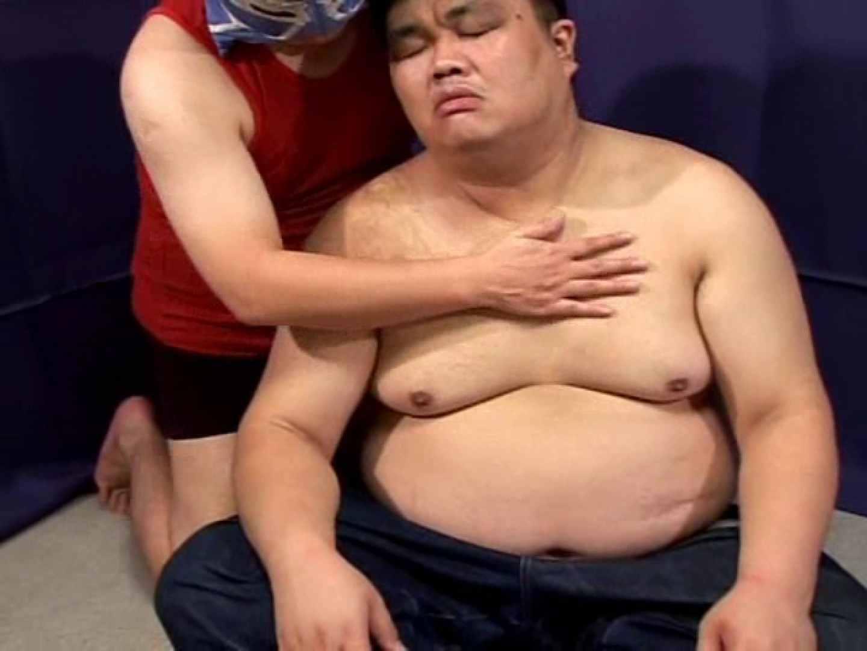 角刈りポッチャリ君とマスクマンの濃厚なセックス! 手コキ ゲイセックス画像 57連発 10