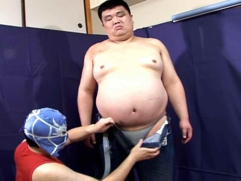 角刈りポッチャリ君とマスクマンの濃厚なセックス! 手コキ ゲイセックス画像 57連発 18
