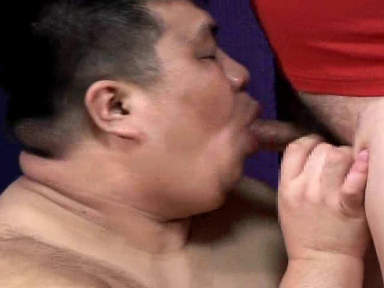 角刈りポッチャリ君とマスクマンの濃厚なセックス! フェラ男子 | ガチムチマッチョ系  57連発 33