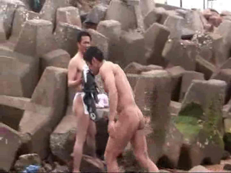 日本の祭り 第四弾! 真鍋島の走り神輿編 VOL.1 私服 ちんぽ画像 83連発 49