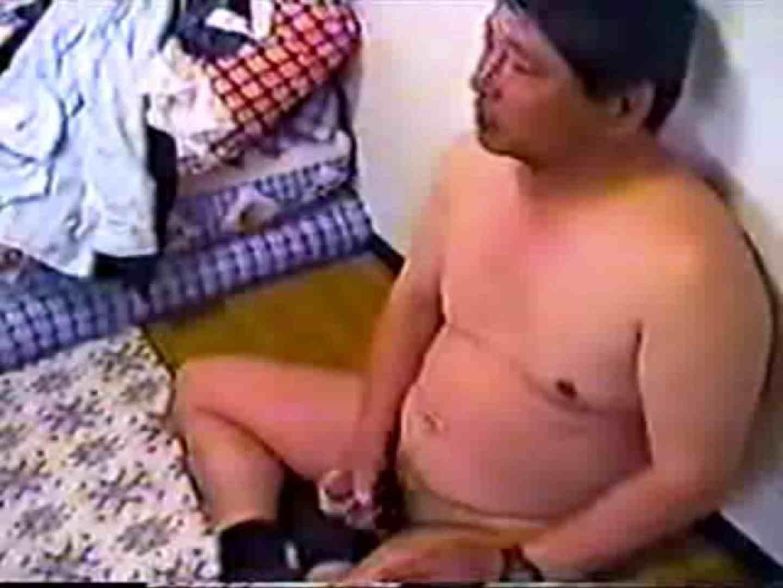ポッチャリおやじのお家でオナニーVOL.1 おやじ熊系な男たち ちんぽ画像 92連発 71