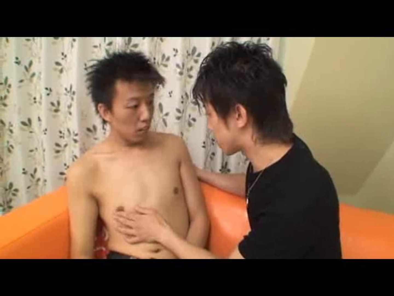 バリタチモデルの調教SEX前編 アナル舐め ゲイ無修正ビデオ画像 98連発 38