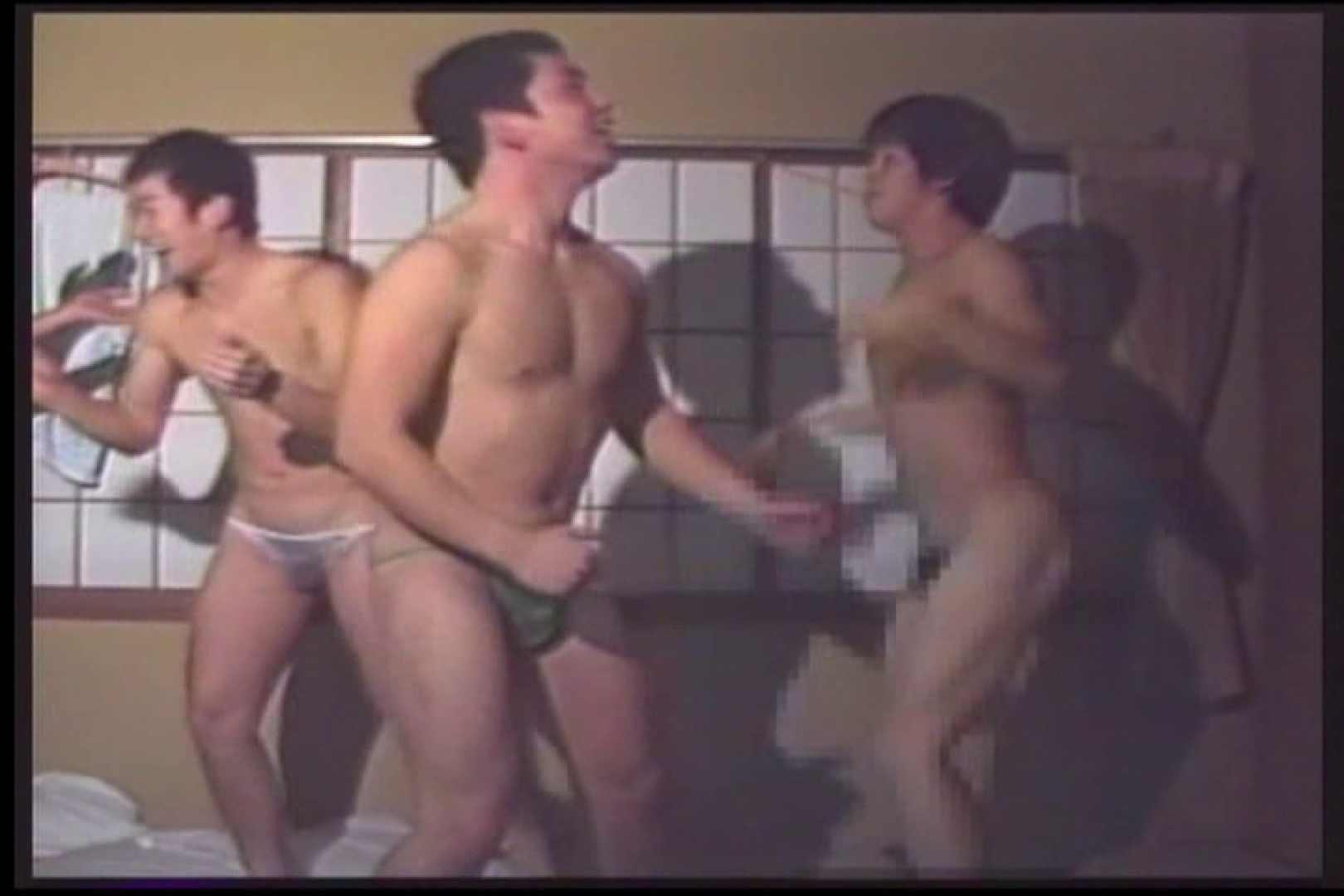 若人は元気!新歓合宿にておふざけ特集VOL.03 サル系な男たち ゲイ無修正動画画像 87連発 29