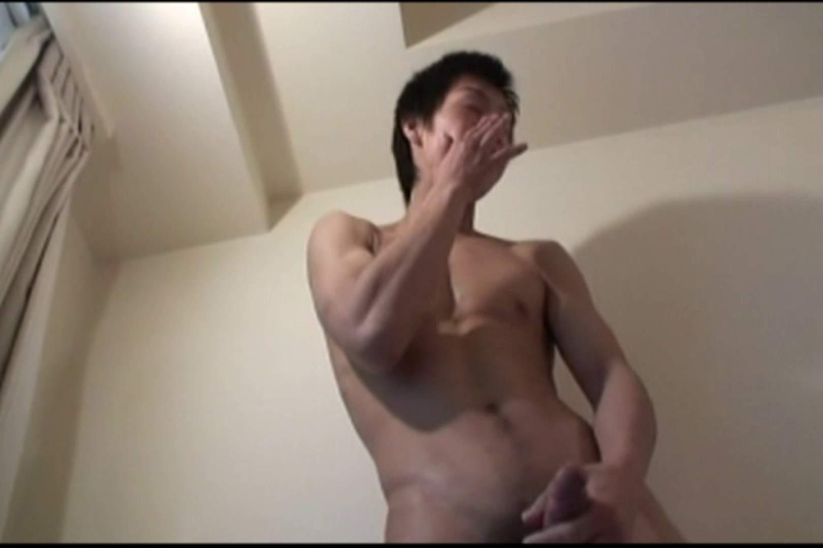 ゲイ 肉棒 動画 爽やかイケメン君の筋トレ後の自慰行為 完全無修正