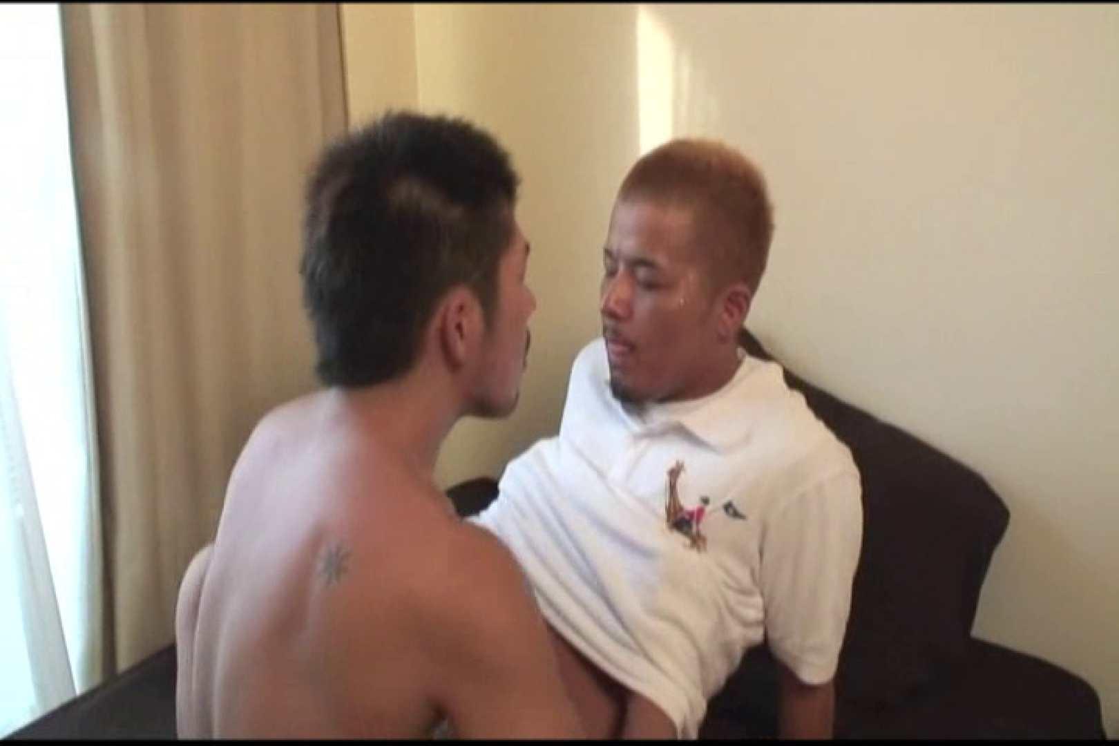 コワモテ風に見えて意外とネコ派な男 私服 ゲイえろ動画紹介 24連発 21
