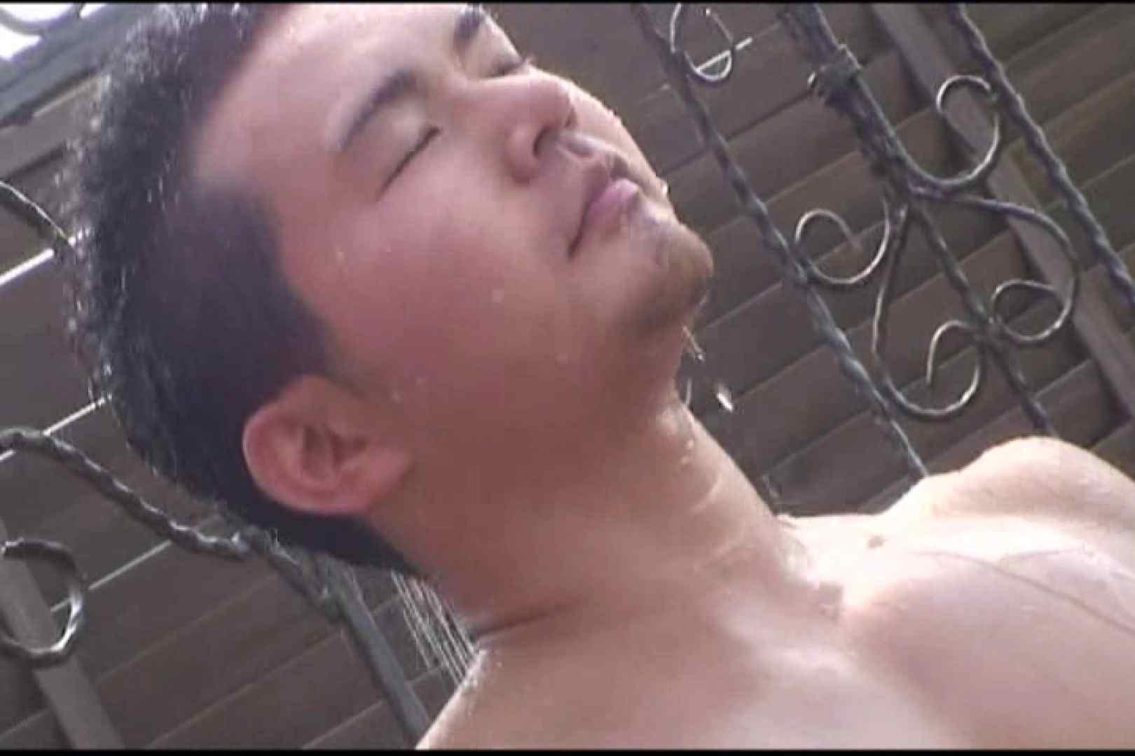 短髪ラガーマン風男子、乳首を舐められ悶絶顔 スポーツ系な男たち ゲイ無修正画像 84連発 6