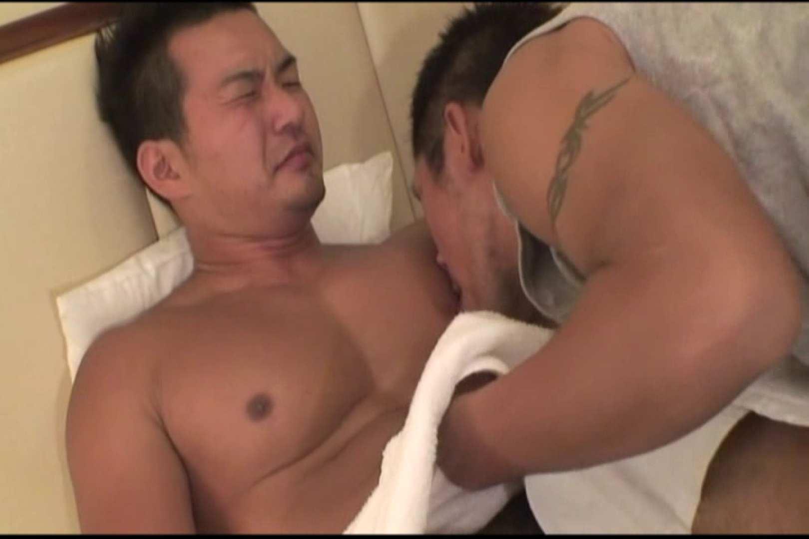 短髪ラガーマン風男子、乳首を舐められ悶絶顔 男に首ったけ ゲイフリーエロ画像 84連発 29