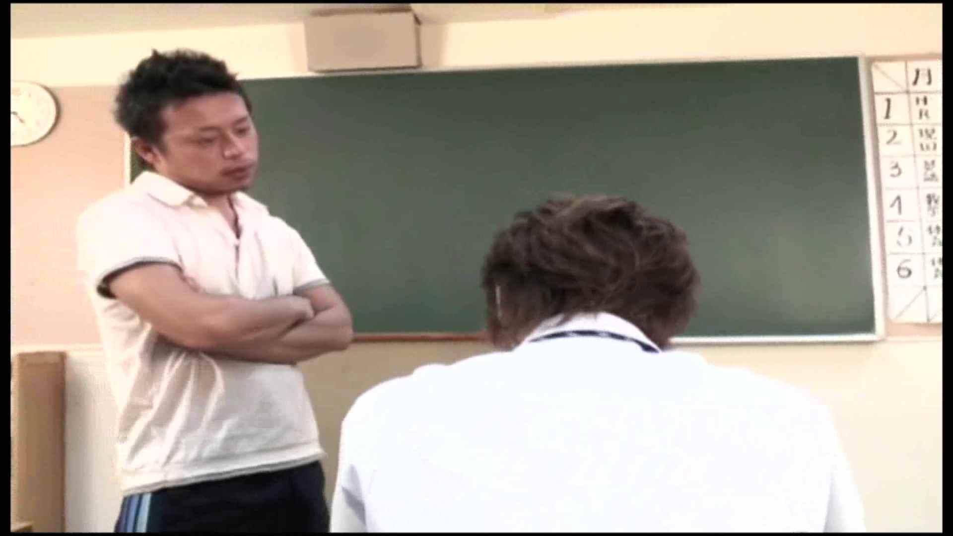 専門学校にて居残り授業の更に居残り授業 前編 フェラ男子 おちんちん画像 22連発 2