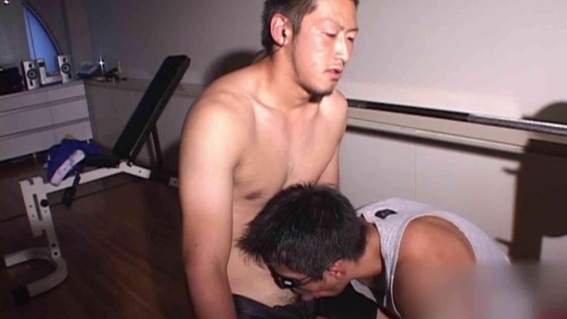 筋肉バカのおてぃんてぃんはほとんどゲイだからぁ…vol.1 フェラ男子 ゲイSEX画像 78連発 41