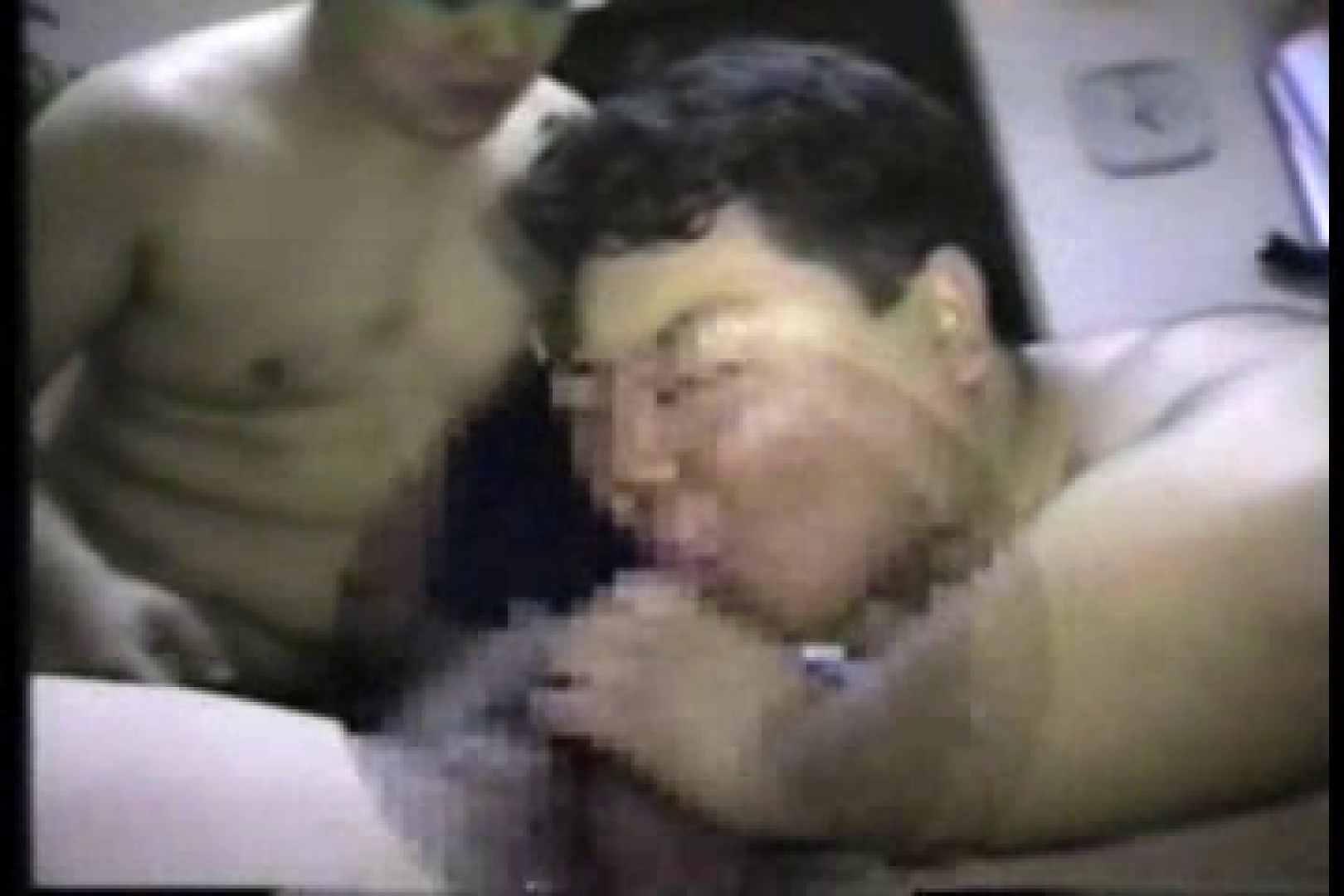 太った男じゃダメですか?15 アナル舐め ゲイAV画像 70連発 68