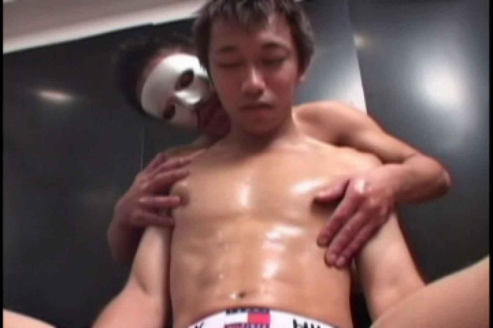 スポメン鍛え上げられた肉体と反り返るモッコリ!!03 ノンケのオナニー ゲイ無料エロ画像 69連発 2