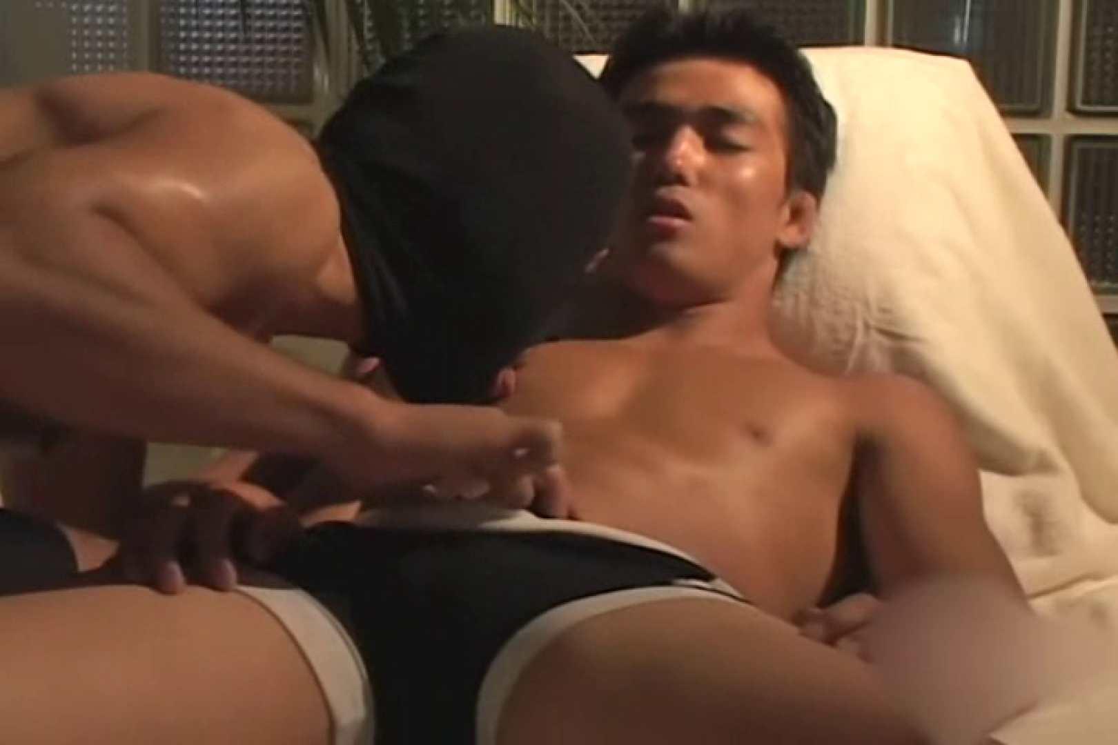 体育会系もっこり競技会file.02 フェラ男子 ゲイ精子画像 45連発 17