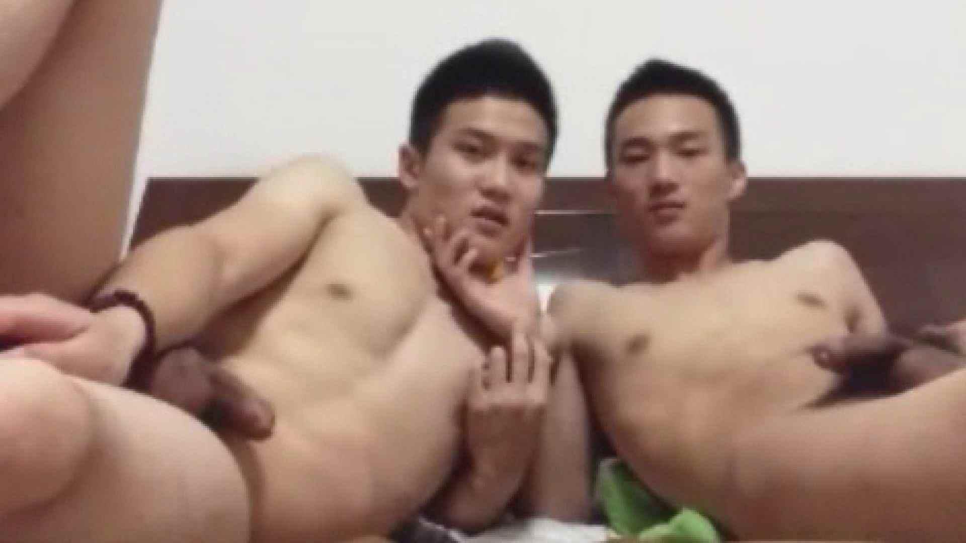二人のオナニー痴情前編 ドキュメント ゲイ射精画像 91連発 17
