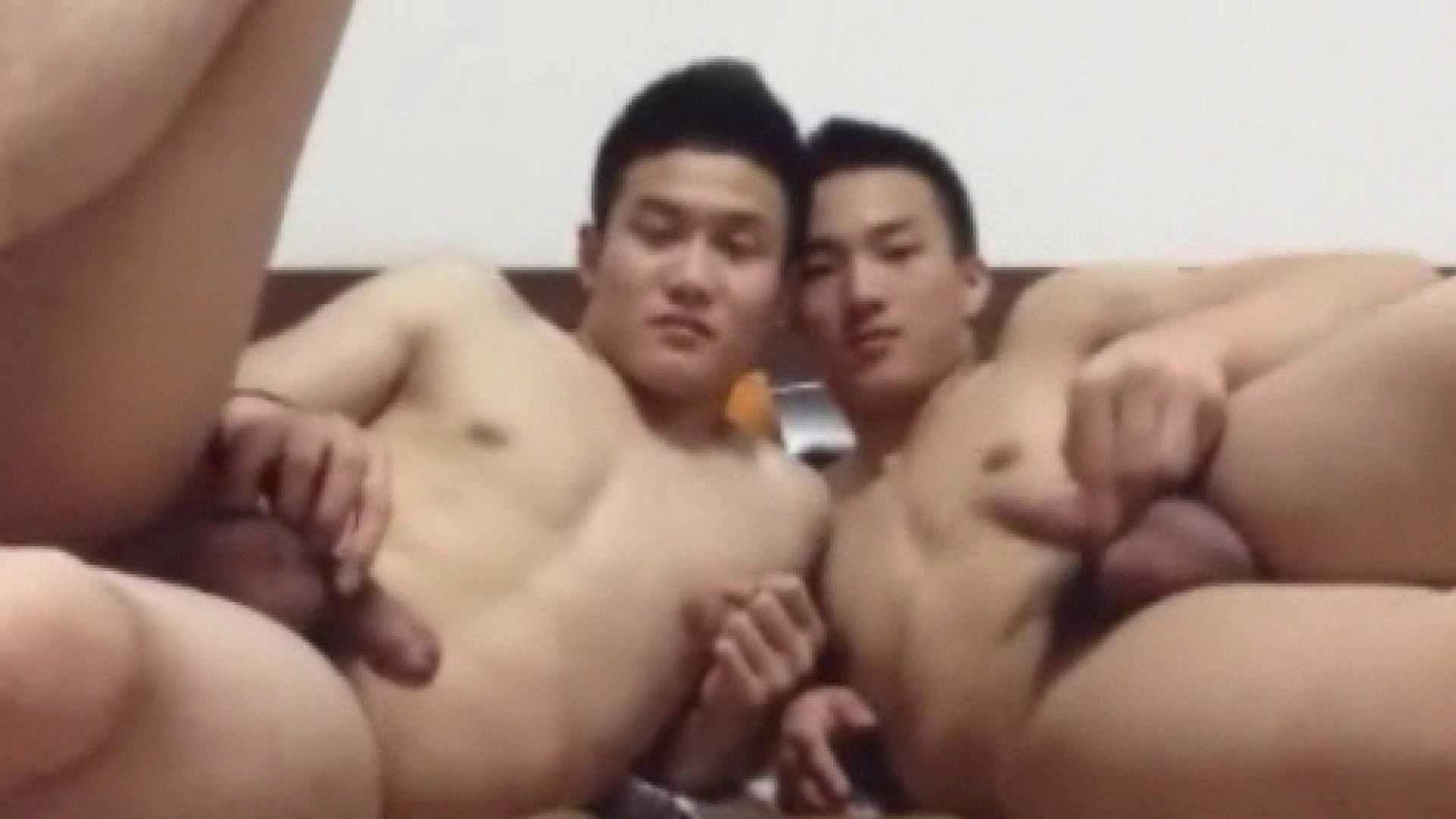 二人のオナニー痴情前編 念願の完全無修正 ゲイ無修正動画画像 91連発 20
